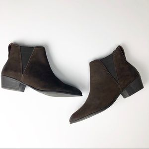 Steve Madden Noema Brown suede leather ankle boot